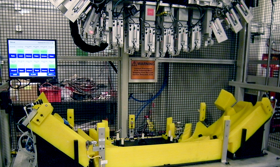 TA Systems Snap Press With Fascia Tooling
