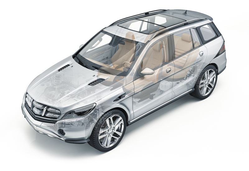 TA Systems Automotive Exterior SUV Front